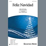 Jose Feliciano Feliz Navidad (arr. Paul Langford) Sheet Music and Printable PDF Score | SKU 426444