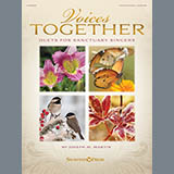 Joseph M. Martin Just Beyond The Manger (from Voices Together: Duets for Sanctuary Singers) Sheet Music and Printable PDF Score | SKU 457812