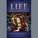 Download or print Joseph M. Martin Testimony of Life - Violin 2 Digital Sheet Music Notes and Chords - Printable PDF Score