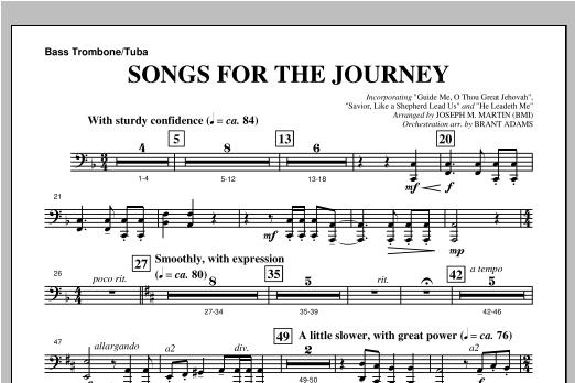 Joseph Martin Songs For The Journey (from