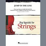 Robert Longfield Jump in the Line - Bass Sheet Music and Printable PDF Score | SKU 371530