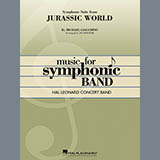 Jay Bocook Jurassic World (Symphonic Suite) - Mallet Percussion 1 Sheet Music and Printable PDF Score   SKU 365022