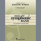 Jay Bocook Jurassic World (Symphonic Suite) - String Bass Sheet Music and Printable PDF Score   SKU 365066