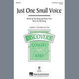 Don Besig Just One Small Voice Sheet Music and Printable PDF Score | SKU 89390