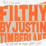 Justin Timberlake Filthy Sheet Music and Printable PDF Score | SKU 199217