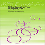 Download or print Kaisershot 12 Fanfares For Two Trumpets, Set 1 Digital Sheet Music Notes and Chords - Printable PDF Score