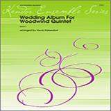 Kaisershot Wedding Album For Woodwind Quintet - Bb Clarinet Sheet Music and Printable PDF Score | SKU 322101