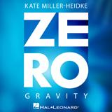 Download or print Kate Miller-Heidke Zero Gravity Digital Sheet Music Notes and Chords - Printable PDF Score