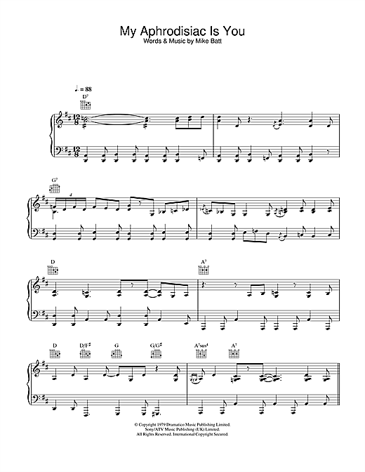Katie Melua My Aphrodisiac Is You sheet music notes and chords. Download Printable PDF.