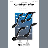 Kirby Shaw Caribbean Blue - Bass Sheet Music and Printable PDF Score | SKU 306012
