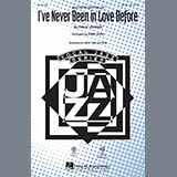 Kirby Shaw I've Never Been In Love Before - Bass Sheet Music and Printable PDF Score | SKU 290107