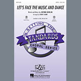 Kirby Shaw Let's Face The Music And Dance - Bass Sheet Music and Printable PDF Score | SKU 290077