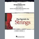 Kristen Anderson-Lopez & Robert Lopez Remember Me (from Coco) (arr. James Kazik) - Violin 1 Sheet Music and Printable PDF Score | SKU 425590