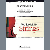 Larry Moore Brandenburg - Violin 1 Sheet Music and Printable PDF Score | SKU 378203