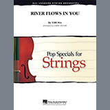 Larry Moore River Flows In You - Violin 3 (Viola Treble Clef) Sheet Music and Printable PDF Score | SKU 310371