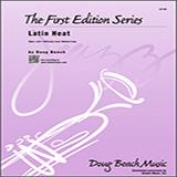 Doug Beach Latin Heat - 2nd Bb Trumpet Sheet Music and Printable PDF Score | SKU 332310