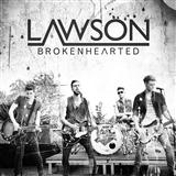 Download or print Lawson Brokenhearted (feat. B.o.B) Digital Sheet Music Notes and Chords - Printable PDF Score