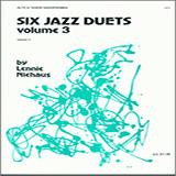 Download or print Lennie Niehaus Six Jazz Duets, Volume 3 Digital Sheet Music Notes and Chords - Printable PDF Score