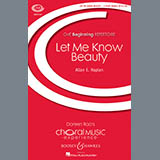Allan Naplan Let Me Know Beauty Sheet Music and Printable PDF Score | SKU 86051