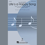 The Muppets Life's A Happy Song (arr. Audrey Snyder) Sheet Music and Printable PDF Score | SKU 89332