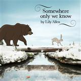 Lily Allen Somewhere Only We Know (arr. Mark De-Lisser) Sheet Music and Printable PDF Score | SKU 119850