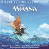 Lin-Manuel Miranda Where You Are (from Moana) Sheet Music and Printable PDF Score | SKU 177360