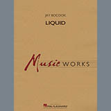 Jay Bocook Liquid - Bb Clarinet 3 Sheet Music and Printable PDF Score | SKU 414144