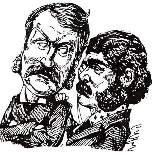 Gilbert & Sullivan image and pictorial