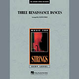 Lloyd Conley Three Renaissance Dances - Conductor Score (Full Score) Sheet Music and Printable PDF Score | SKU 287348
