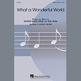 Louis Armstrong What A Wonderful World (arr. Audrey Snyder) Sheet Music and Printable PDF Score | SKU 448600