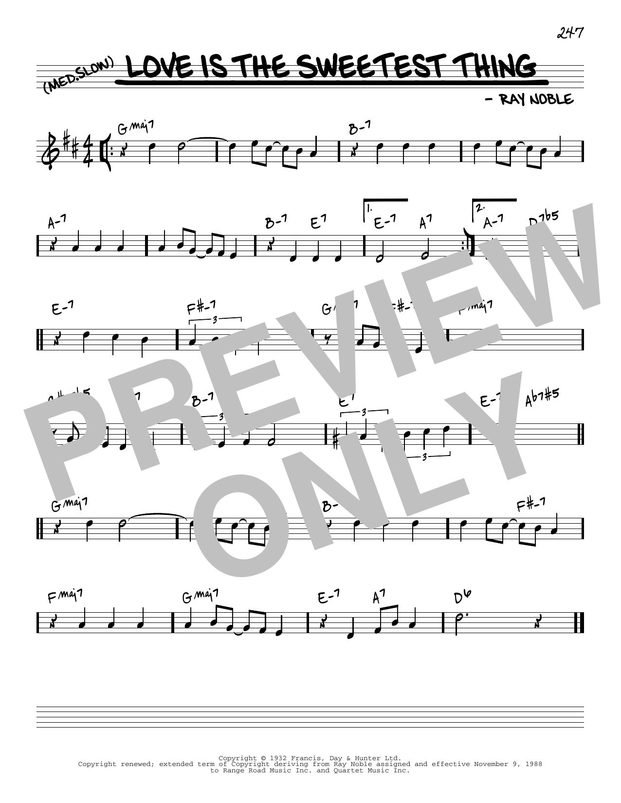 Jack Grassel Love Is The Sweetest Thing [Reharmonized version] (arr. Jack Grassel) sheet music notes printable PDF score