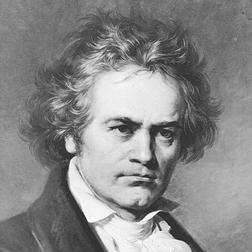 Ludwig van Beethoven Allegretto Theme (from Symphony No. 7) Sheet Music and Printable PDF Score | SKU 105473