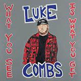 Luke Combs Even Though I'm Leaving Sheet Music and Printable PDF Score | SKU 432398
