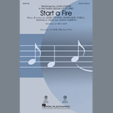 John Legend Start A Fire (from La La Land) (arr. Mac Huff) Sheet Music and Printable PDF Score | SKU 183670
