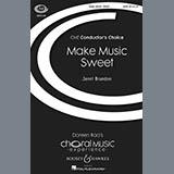 Jenni Brandon Make Sweet Music Sheet Music and Printable PDF Score   SKU 86344