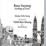 Download or print Malaysian Folksong Rasa Sayang Eh (Oh, To Be In Love) Digital Sheet Music Notes and Chords - Printable PDF Score