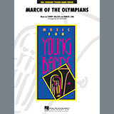 Jay Bocook March Of The Olympians - Bb Trumpet 3 Sheet Music and Printable PDF Score | SKU 286829