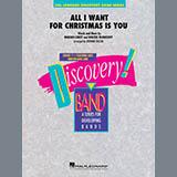 Mariah Carey All I Want For Christmas Is You (arr. Johnnie Vinson) - Trombone/Baritone B.C. Sheet Music and Printable PDF Score | SKU 418311