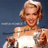 Download or print Marilyn Monroe Diamonds Are A Girl's Best Friend Digital Sheet Music Notes and Chords - Printable PDF Score