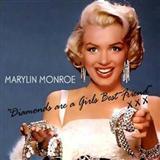 Marilyn Monroe Diamonds Are A Girl's Best Friend (from Gentlemen Prefer Blondes) Sheet Music and Printable PDF Score | SKU 112125