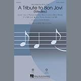 Mark Brymer A Tribute To Bon Jovi (Medley) - Bass Sheet Music and Printable PDF Score | SKU 300222