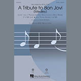 Mark Brymer A Tribute To Bon Jovi (Medley) - Bb Trumpet 1 Sheet Music and Printable PDF Score | SKU 300180