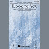 Mark Brymer I Look To You - Synthesizer Sheet Music and Printable PDF Score | SKU 298743