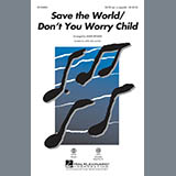 Mark Brymer Save the World/Don't You Worry Child - Synthesizer Sheet Music and Printable PDF Score | SKU 329993