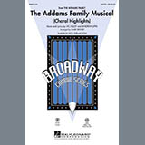 Mark Brymer The Addams Family Musical (Choral Highlights) - Woodwind II Sheet Music and Printable PDF Score | SKU 296805
