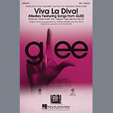 Mark Brymer Viva La Diva! (Medley featuring Songs from Glee) - Baritone Sax Sheet Music and Printable PDF Score | SKU 296849