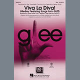 Mark Brymer Viva La Diva! (Medley featuring Songs from Glee) - Bass Sheet Music and Printable PDF Score | SKU 296851