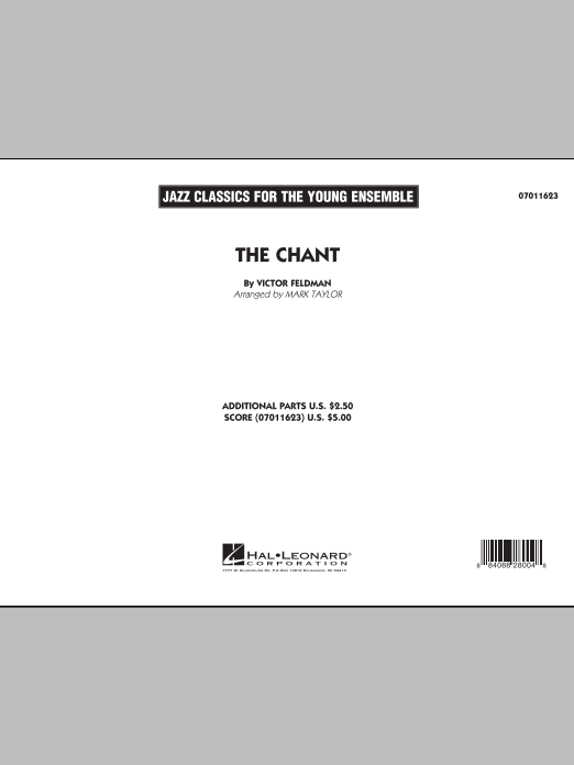 Mark Taylor The Chant - Conductor Score (Full Score) sheet music notes and chords. Download Printable PDF.