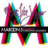 Maroon 5 Moves Like Jagger (feat. Christina Aguilera) Sheet Music and Printable PDF Score   SKU 111936