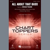 Meghan Trainor All About That Bass (arr. Roger Emerson) - Baritone Sax Sheet Music and Printable PDF Score | SKU 333258